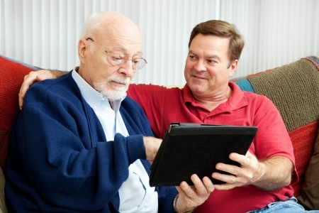 Caregivers Brentwood Heights Seniors Tablets
