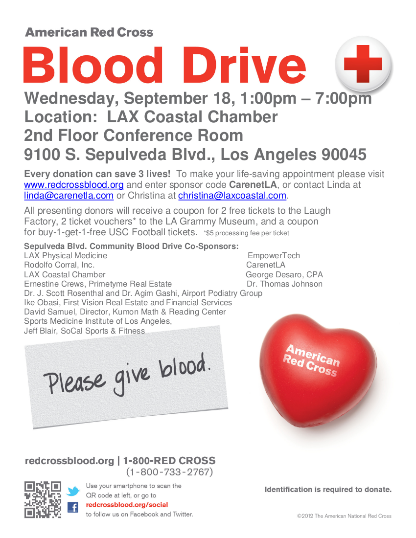 Blood Drive - 2013 September 18
