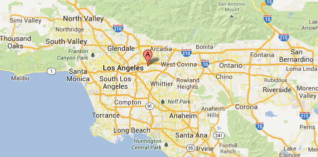 Service Areas CareNetLA