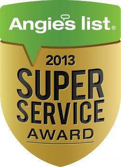 Angie's List LOS ANGELES home Elder Care Super Service Award winner